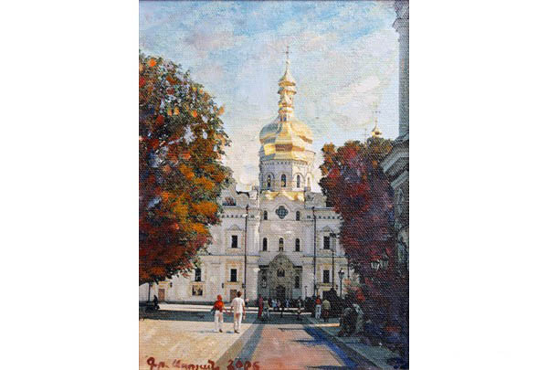"""Saint Sophia Cathedral in Kiev"" 25 х 15"